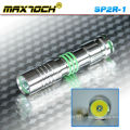 Maxtoch SP2R-1 Stainless Steel Led Cree Portable Torchlight