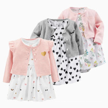 Girls Baby Outfits Floral Girl Baby Clothes Toddler Clothing Set Baby Gift Set Autumn Infant Clothing Mini Rompers Dress