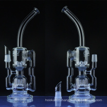 Glass Recycler Water Pipe for Smoking with Sprinkler Perc (ES-GB-036)