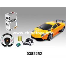 1: 24 4-CH télécommande RC voiture jouets (0382252)