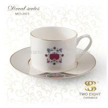 Tasse de thé en céramique à la vente chaude avec un design spécial, ensembles de thé vintage