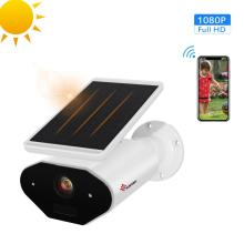 Solar Wireless Security Camera