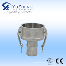 Part C-Female Coupler & Hose Shank (Camlock Coupling)