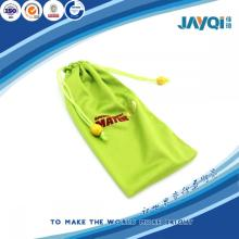 Silk-screen Printing Green Cell Phone Pouch