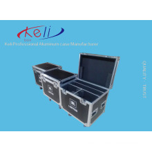 Factory Lowest Price Portable Lockable Hard Aluminium Tool Box Flight Case with Foam (KELI-Flight-03)