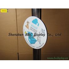 Weiche magnetische Cup Mat, Kühlschrankmagnet, Kühlschrankmagnet, weichen Magnetismus Coaster (B & C-G082)