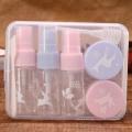 Toiletry 15ml Cosmetic Packaging Pet Bottle Kit Pet Travel Bottles (PT08)