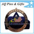 Custom Cut out Medal with Velvet Box