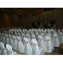 couverture de chaise, housse de fauteuil polyester CTV585, tissu épais 200GSM, durable et facile de mariage lavable