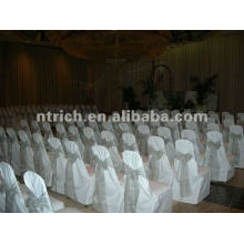 wedding chair cover,CTV585 polyester chair cover,200GSM thick fabric,durable and easy washable