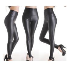 Мода высокого качества женщин кожаный вид Leggings (SR8207)