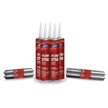 Selante de pára-brisas PU para Auto Glass Bonding (5758)