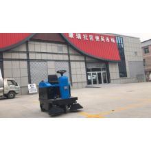 Equipado com varredora de piso de direção industrial protegida