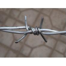 Fil en fer à barbelé en fil de fer galvanisé pour protection