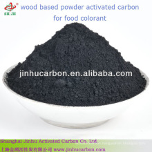 Wood based powder activated carbon for food colorant