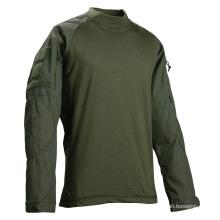 Military Uniform Bdu Custom 60%Polyester 40%Cotton Ripstop Combat Shirt