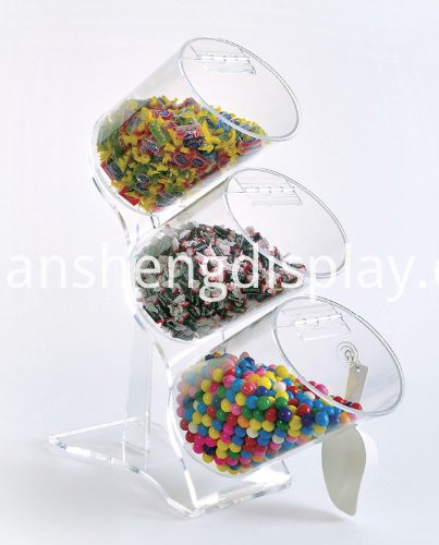 acrylic risers for food
