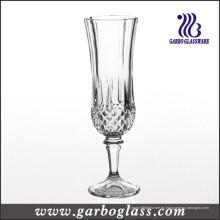 Copa clásica de copa de champán presionado (GB040206ZS)