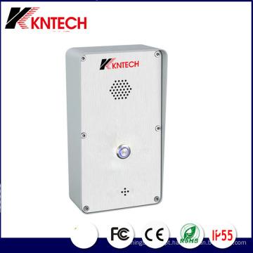 Intercomunicador telefónico de emergência com controlo de acesso por IP para telefone IP de porta Knzd-45
