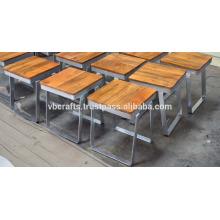 Industrial Loft Restaurante Taburete Nuevo Diseño