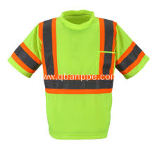 hi vis reflective tshirt with pocket