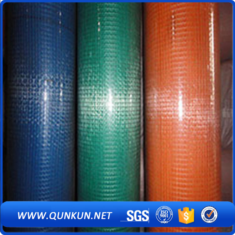 1-4 inch green pvc coated welded wire mesh