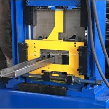 Rouleau réglable formant profileuse à rouleaux de plancher de section C