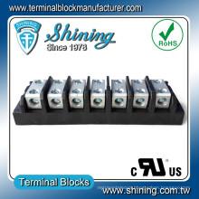 TGP-050-07BSS Power Splicer 50 Amp 7-Way Terminal Block Connector