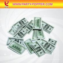 Cañón de confeti Disparar billetes en euros