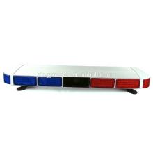 A barra clara de advertência do diodo emissor de luz da polícia / estroboscópio da emergência ilumina a Multi-cor de 12V 128W