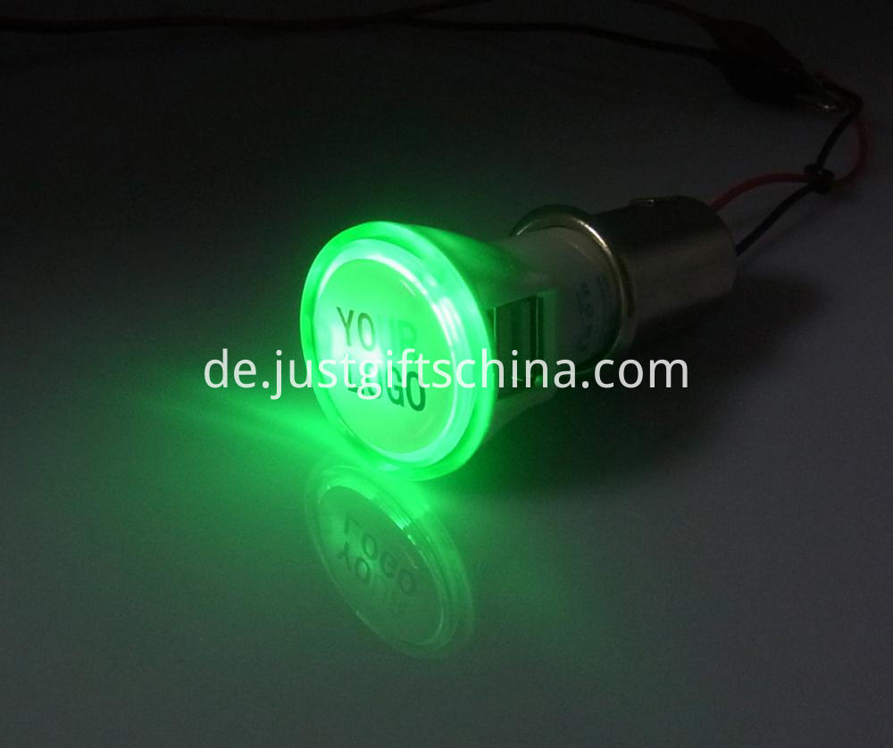 Promotional Imprinted Bright Car Charger Round Shape (4)