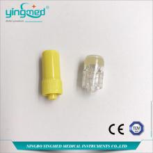 Kualitas Tinggi Heparin Yellow Luer Lock Heparin Cap