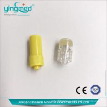 Высококачественная гепариновая желтая шапочка Luer Lock