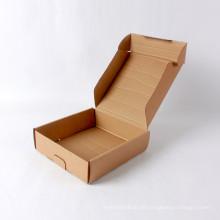 Hochwertiges kleines Briefpapier Kraftpapier Wellpappe Box
