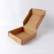 Caja de papel corrugado de papel kraft de papel de alta calidad