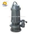 pompes submersibles à boues verticales et à eaux usées