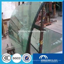vidrios laminados curvos doblados arquitectónicos coloreados claros en China