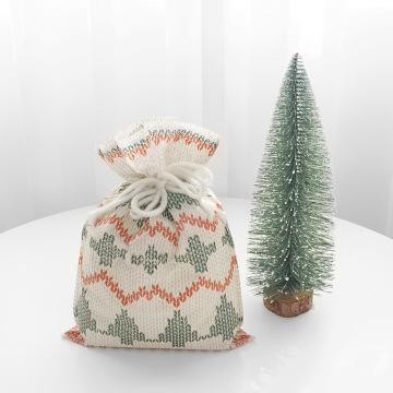 Christmas Sweater Character Small Gift Bag