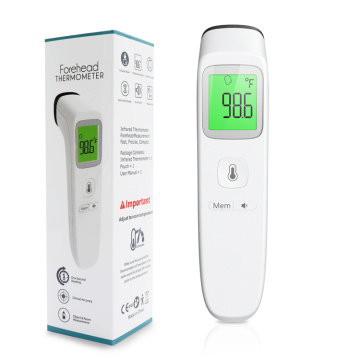 Body Object Digital Infrared Forehead Thermometer Gun