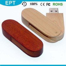 USB 2.0 Interface Type Engraving Logo Wood USB Flash Drive for Free Sample