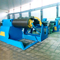 Cut to length line metal steel coil slitting machine line