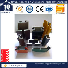 Aluminum/Aluminium Extrusion Profiles for Buidling Material Used
