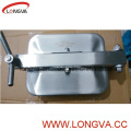 Stainless Steel Sanitary Square Manhole Cover