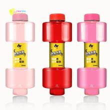 Привет-crazystore портативный гантели форма бутылки питьевой воды бутылки воды чайник персонализированные бутылки