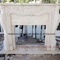 Beige Marble Fireplace Mantel Surround (SY-MF002)