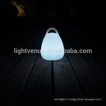 éconergétiques led lampe avec télécommande/APP/Mobile Témoindecontrôle Lanterne en forme de table