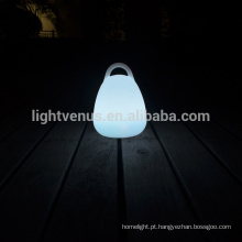 economia conduzida de energia lâmpada com lâmpada de forma controle remoto/APP/Mobile lanterna da tabela