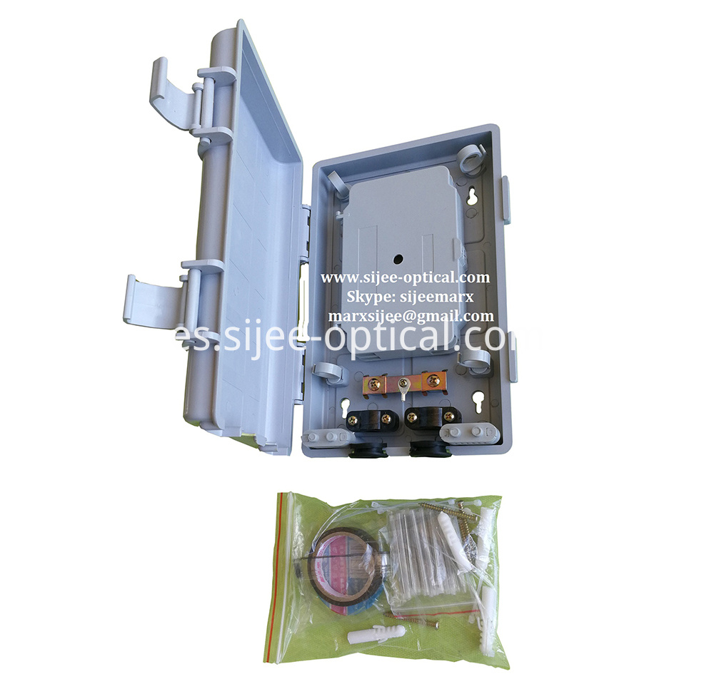 fibers optical terminal box