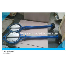 Soft Seal Wafer Extended Stem Extension Spindle Butterfly Valve