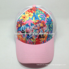 Custom trucker Hats / mesh caps Broderie Design Logo Running Cap